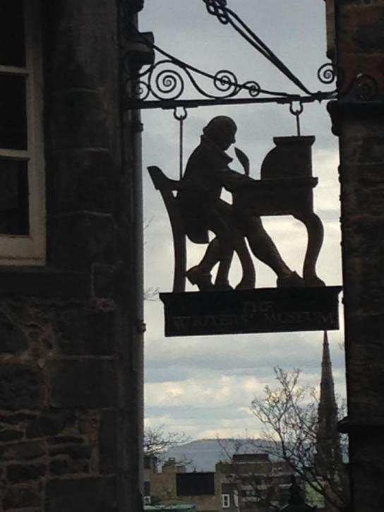 Edinburgh - Writer's museum