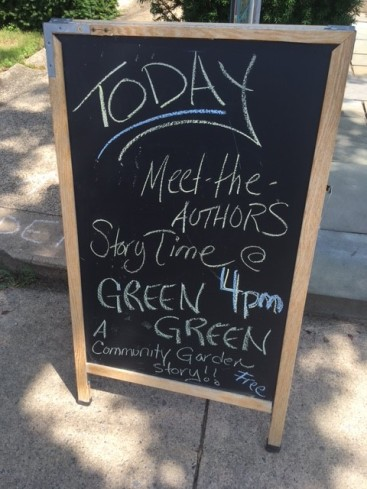 Green Green signing - Let's Play Books - Emmaus, PA