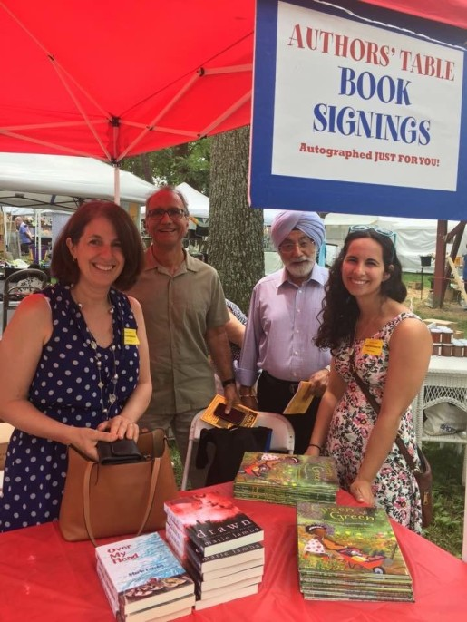 Green Green signing - Tinicum Arts Festival 2017