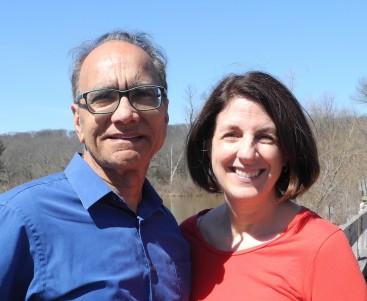 Authors Baldev and Marie Lamba
