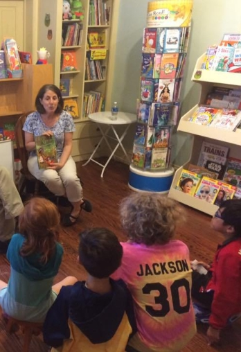 Storytime at Lets Play Books Emmaus PA