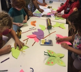 Butterfly craft making!