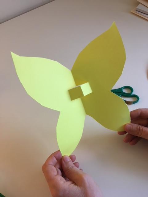 Make A Butterfly Finger Puppet